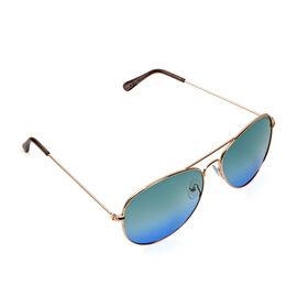 Aviator Sunglasses - Aqua Blue