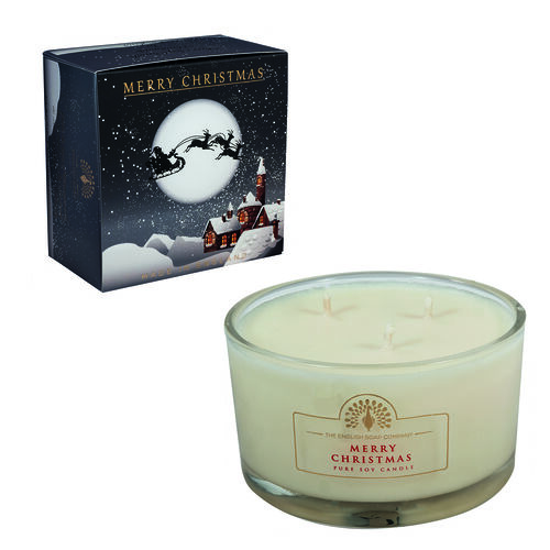 The English Soap Company: Large Candle - Winter Village