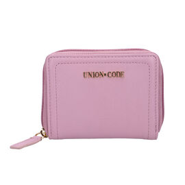Union Code 100% Genuine Leather RFID Lilac Wallet