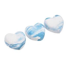 DOD - Sulis Freshener Hearts (6 Pcs) - White and Baby Blue