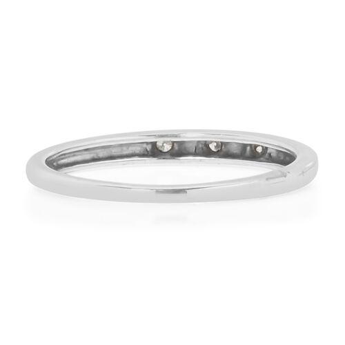 9K W Gold Diamond (Rnd) Ring