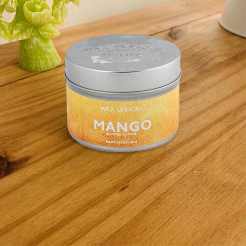 Wax Lyrical Mango Tin Candle (upto 20 Hours)