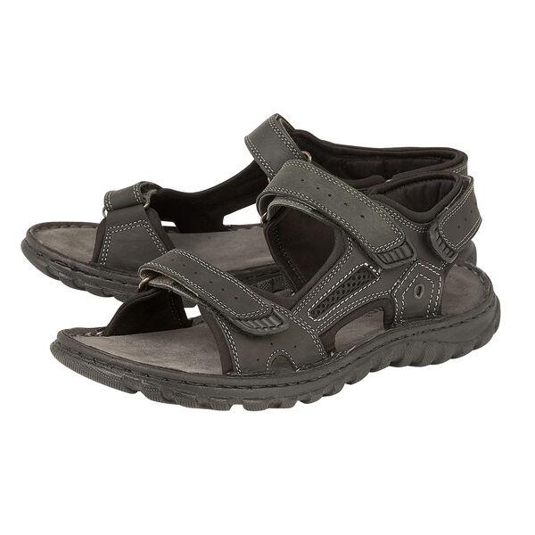Lotus Douglas Strap Sandals (Size 10) - Black