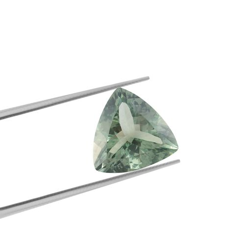 AAA Prasiolite Trillion 18 Faceted 14.67 Cts