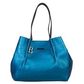 Bulaggi Collection - Joan Shopping Bag in Blue (Size 33x29x14 Cm)