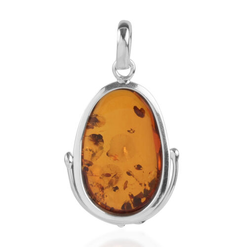 Baltic Amber (Cab oval 34.50x18mm) Pendant