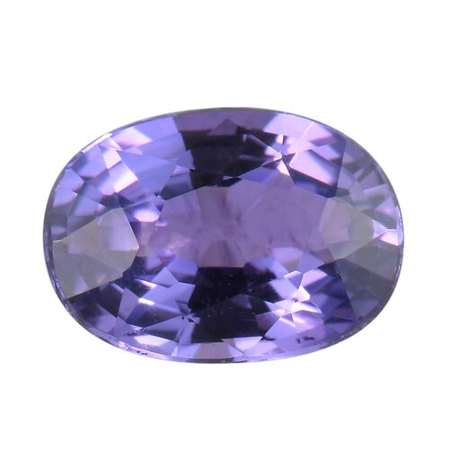 AAA Purple Sapphire Oval 6.7x4.9 Faceted 3A 1.06 Cts