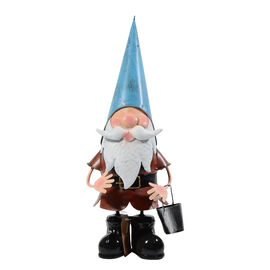ROLSON Garden Gnome with Pail (Size 13.5x17x38 Cm)