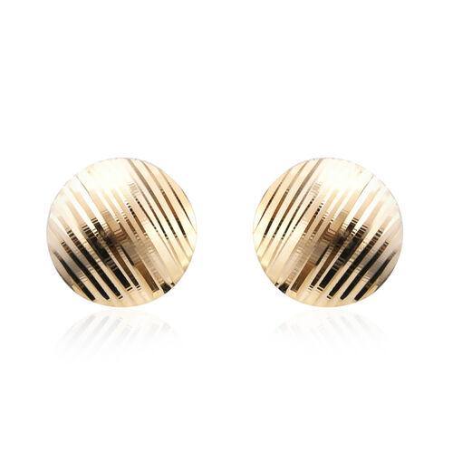 Stud Earrings in 9K Yellow Gold