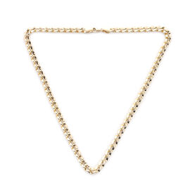 Curb Chain Necklace in 9K Yellow Gold 11.48 Grams 18 Inch