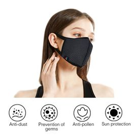 6 Layer Anti Dust Face Covering - Grey