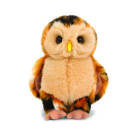 Keel Toys - Beige Colour Owl (Size 18 Cm)