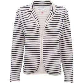BRAKEBURN 95% Cotton Stripe Blazer (Size-12)