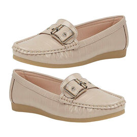 Lotus Cory Slip-on Loafer - Beige