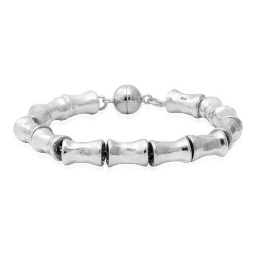 Close Out Buy Bamboo Bracelet in Sterling Silver 7.5 Inch