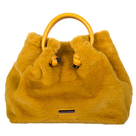 Bulaggi Collection- Viola Handbag (Size 28x27x14 Cm) - Mustard