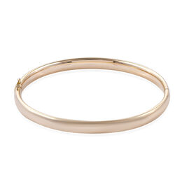 Royal Bali Collection 9K Yellow Gold Bangle (Size 7.5), Gold wt 7.47 Gms