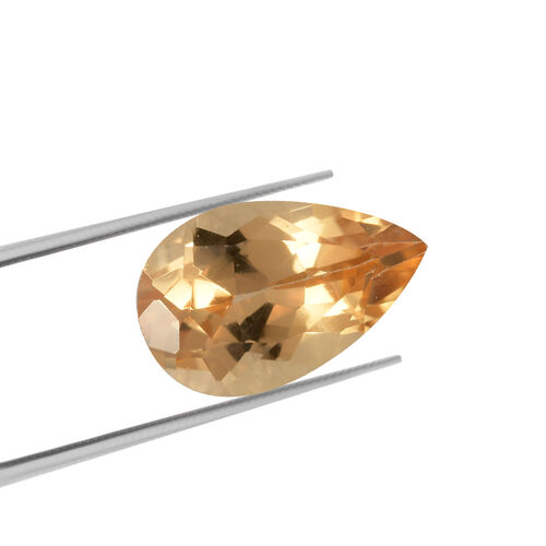AAA Imperial Topaz Pear 7.94x5.09x3.84 Faceted 0.77 Cts