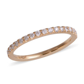 SIGNATURE COLLECTION 18K Yellow Gold Diamond (Rnd) (SI-I1/G-H) Ring 0.250 Ct.