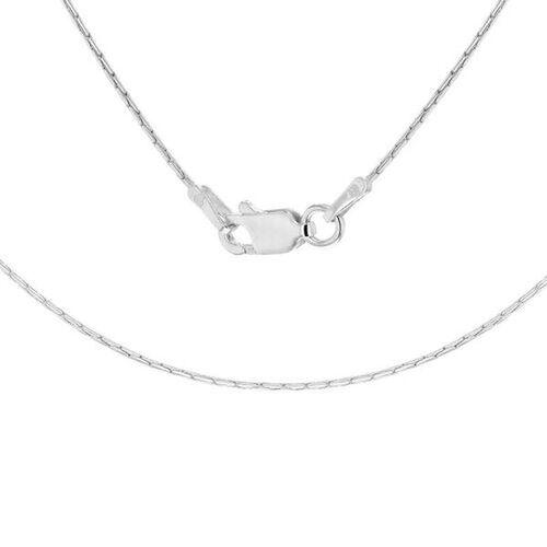 Sterling Silver Cobra Chain (Size 17)