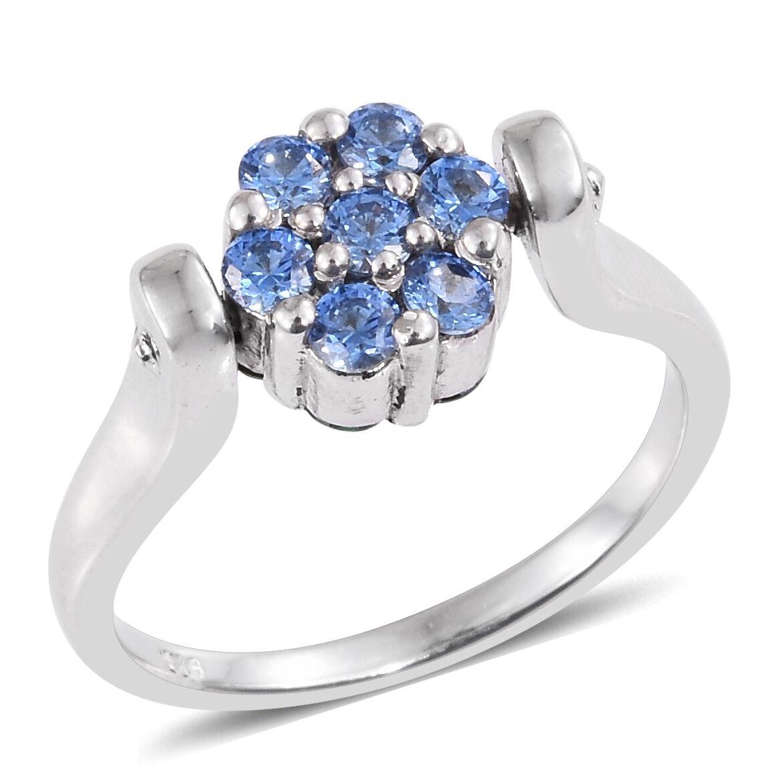 [Sponsored]TJC JFrancis Platinum Plated Sterling Silver Ring with Swarovski® Zirconia C1la6me0CE
