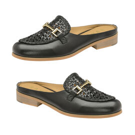 Ravel Black Axis Backless Loafer