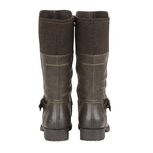 Lotus Adriana Mid-Calf Ladies Boots (Size 3) - Brown