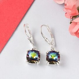 J Francis Crystal from Swarovski - Vitrail Medium Swarovski Crystal  Earrings in Sterling Silver