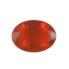 AAAA Fire Opal Oval 14x10 Faceted 3.63 Cts