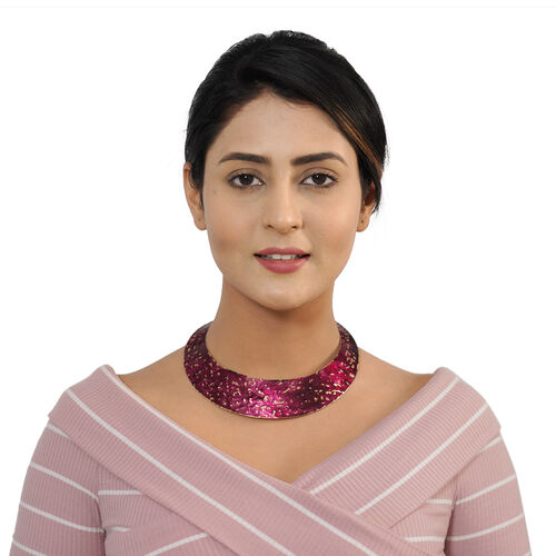 Patina Collar Necklace (Size 16)