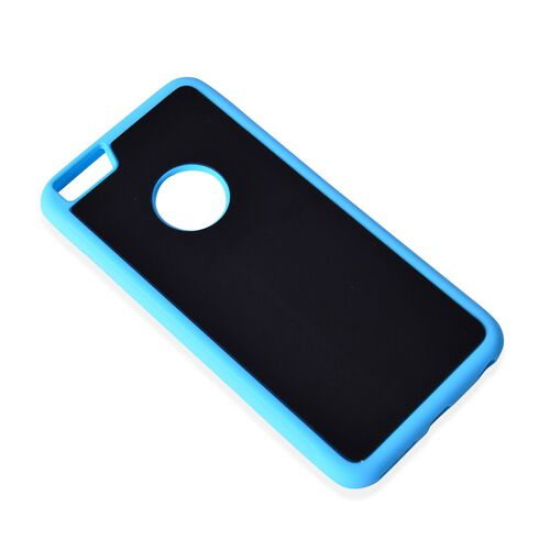 Antigravity Samsung S7 Phone Cover Black and Toughened Membrane (Size 14x7 Cm)