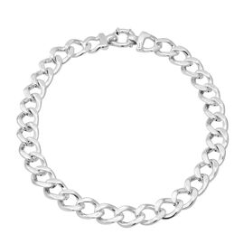 Cuban Link Necklace in Silver 57.08 Grams 19.5 Inch