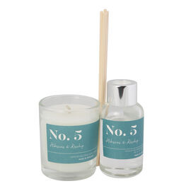Wax Lyrical Gift Bag Includes Odour Neutralising Reed Diffuser (40ml) and Candle (66g) -  Hibiscus a