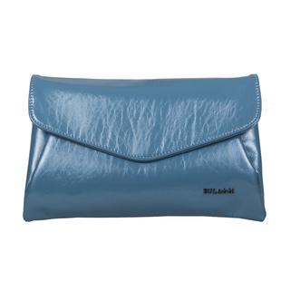 Bulaggi Collection - Acacia Clutch Bag with Shoulder Strap in Denim Blue (Size 29x17Cm)