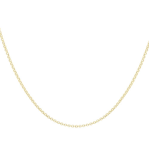 9K Yellow Gold Round Belcher Chain (Size 20), Gold wt 2.80 Gms