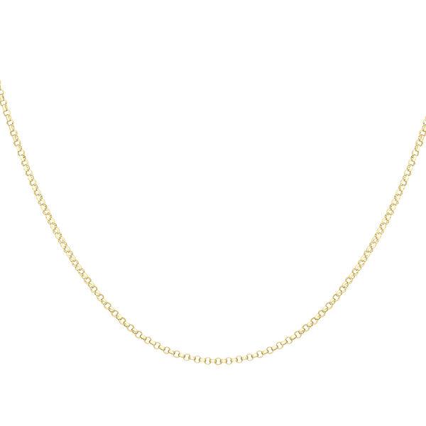 9K Yellow Gold Round Belcher Chain (Size 20), Gold wt 2.80 Gms