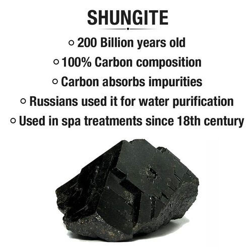 The 5th Season - Amber Ebony - Scented Shungite in Gift Box with Essential Oil