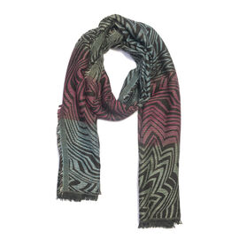 Multi Colour Lurex scarf (Size 185x70 Cm)