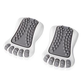 Portable Vibrating Foot Massager Set (Size 15.5x10.5x6.5 Cm)  - Grey
