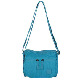 Artsac - Blue Multipocket Crossbody Bag (Size 240 x180 x160 mm)