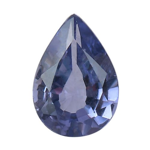 AAA Purple Sapphire Pear 7x5 Faceted 0.57 Cts