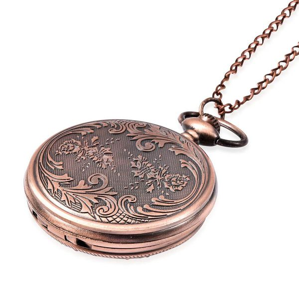 Simulated Emerald glass flower pattern pocket watch,Case:alloy+white crystal+green glass,Movement:PC21S/Japan Movement,Brand:STRADA