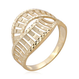 Surabaya Gold Collection 9K Yellow Gold Ring - Gold Wt 2.60 Gms