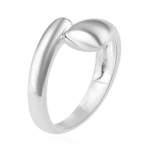 Sterling Silver Bypass Band Ring