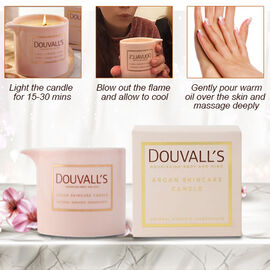 Douvalls: Argan Pouring Candle - Forbidden Spices - 48Hr Burn Time