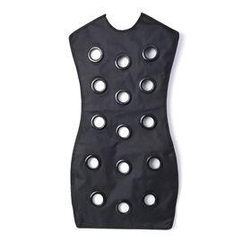 Black Colour Dress Shaped Multi Purpose Organizer (Size 82x46 Cm) with Hanger