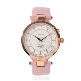 Kyboe Lago Rosa Stainless Steel Case Pink Colour Watch