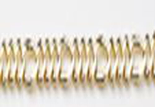 Italian Made - 9K Yellow Gold Figaro Bracelet, 4.00 gms (Size 7.5)
