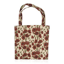 SIGNARE - Tapastry Collection - Poppy Bag (Free with Matching Travel Bag)