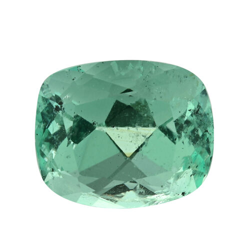 Colombian Emerald Cushion 10x8.5 Faceted 3A 3.250 Cts